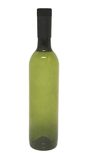 (Plastic Wine Bottle & Screw Cap, 750ml)