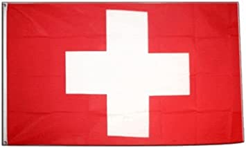 Flaggenking Bandera de King Bandera de Suiza, Color Blanco, 250 x ...