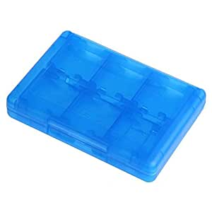 Gaoominy Azul 28 En 1 Tarjeta de Memoria del Juego Sostenedor Estuche Micro- para Nintend Nds Ndsi Ll 2Ds 3Ds XL Nuevo 3Ds Ll XL Cartucho Caja de ...