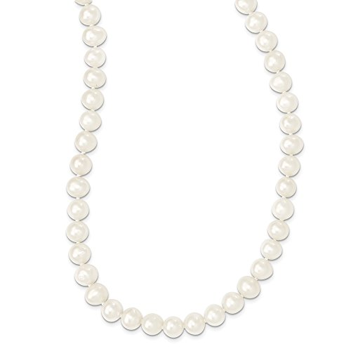 Roy Rose Jewelry 9-10mm Freshwater Cultured Pearl Endless Necklace 80'' length by Roy Rose Jewelry