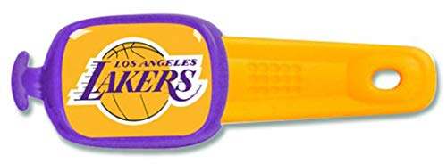 WinCraft Bundle 3 Items: Los Angeles LA Lakers 1 Badge Reel, 1 Lanyard, and 1 Stwrap Bag Id Tag by WinCraft (Image #3)