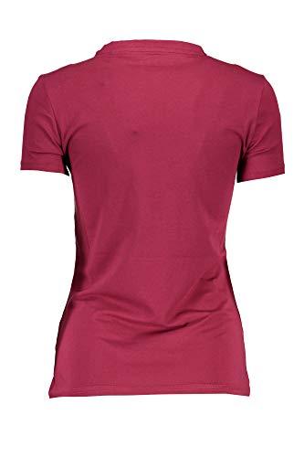 Donna Maniche Jeans Corte G5a4 Viola shirt W84i58k6yw0 T Guess PpZBAYZ