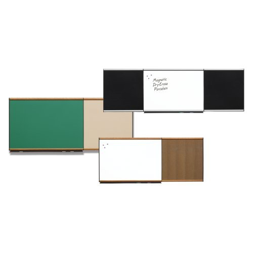 Quartet Connectables Modular Board System, 8 x 4 Feet, Sand Vinyl Tack Bulletin Board with Graphite Frame and Mounting Hardware (Sand Vinyl Tack)