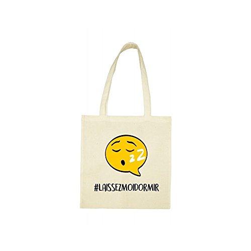 dormir laissez hashtag bag beige Tote moi wTP0Ywq