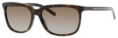 Christian Dior Black Tie 173/S Sunglasses Dark Havana / Brown - Dior Christian Tie Black