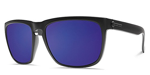 Electric Visual Knoxville XL Smokescreen/OHM Grey Plasma Chrome - Electric Sunglasses Knoxville Xl