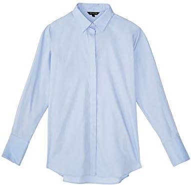 MASSIMO DUTTI 5143/627/406 - Camisa para Mujer, Color Liso ...