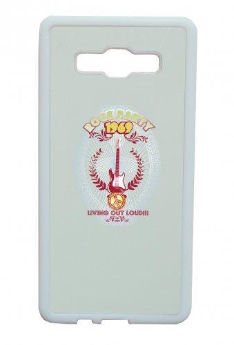 """Smartphone Case Apple IPhone 5/ 5S/ SE """"rock party 1969 living out loud Music Rock n Roll Rocker Bike Auto Reise Travel Palmen 80er 90er"""" Spass- Kult- Motiv Geschenkidee Ostern Weihnachten"""
