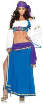 Seductive Gypsy Adult Costume - Small/Medium -