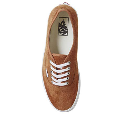 Authentic Vans Leather Vans Authentic Brown 8wz0FH