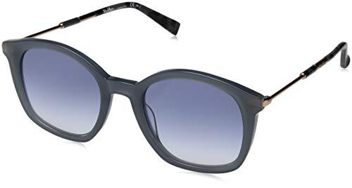Max Mara Women's Mm Wand Ii Square Sunglasses, Blue, 51 mm (Max And Mara)
