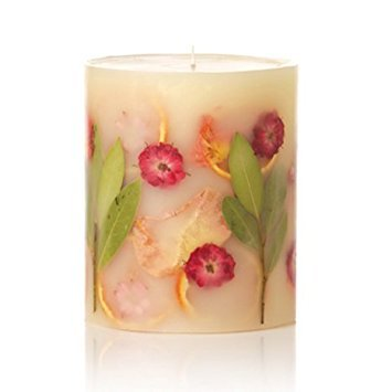 Rosy Rings Small Round Botanical Candle - Peony & Pomelo