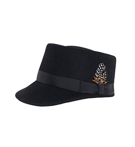 Black Conductor (Ferrecci M Black Conductor Engineer Hat)