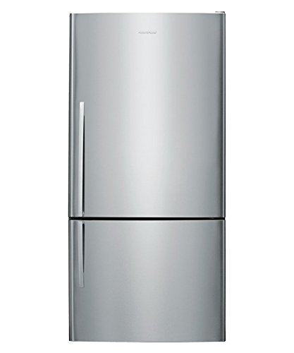 (Fisher Paykel E522BRX4 17.6 cu. ft. Capacity Right Hinge Counter Depth Bottom Freezer Refrigerator in Stainless Steel)