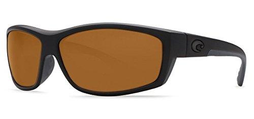Costa Del Mar Sunglasses - Saltbreak- Plastic / Frame: Blackout Lens: Polarized Amber 580P - Sunglasses Polarized Mar Del Costa Saltbreak