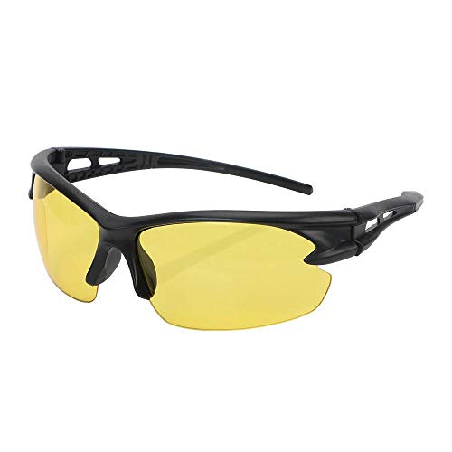 - Explosion-Proof Sunglasses Night Vision Glasses Insect Proof Windproof for Outdoor Riding Plain Glass Spectacles A Matte Frame