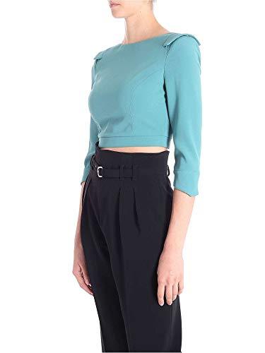 Ma09486e2050 Azul Poliéster Franchi Jersey Mujer Elisabetta TqUR1n