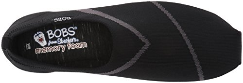Women's Lite Skechers BOBS Sox from Flat Plush Black Hop Tz4EqSxwa