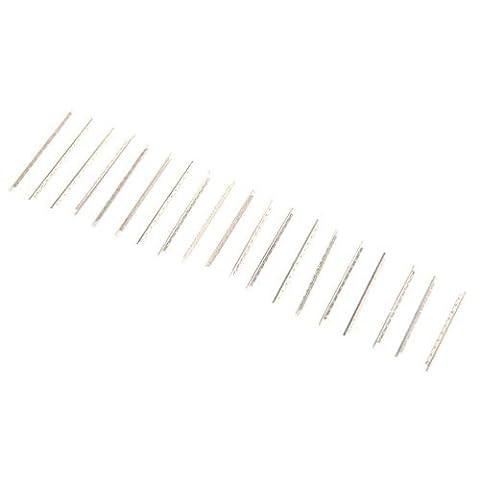 SODIAL(R)19pcs Fret Wire Copper Fretwire Set 1.7mm for 26