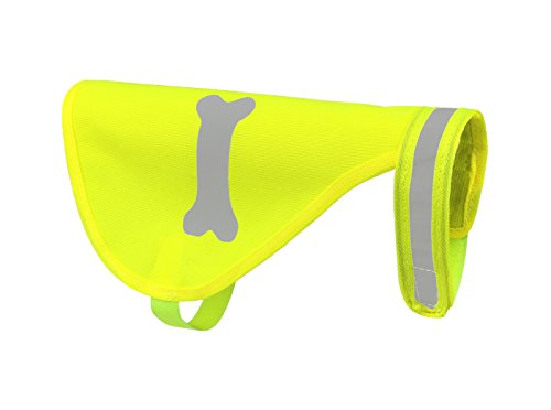 Safety Cat Dog Reflective Vest Small/Extra Small - Makes your Pet Highly Visible and Fashionable (Dog Safety Safety Vest)