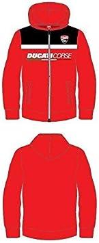 Pritelli 1726005/Sweat Enfant Kids Ducati 4//6 rouge