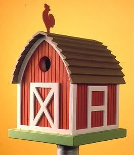 Amazon.com : Barn Bird House : Purple Martin House : Garden & Outdoor
