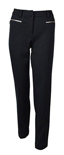 - Jones New York Women's Twill Zip Pocket Dress Pants (4, Navy)