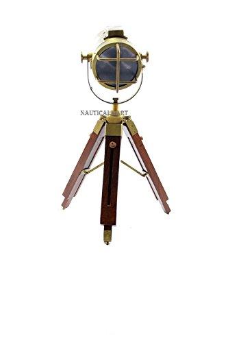 NAUTICALMART SPOTLIGHT MOVIE TRIPOD TABLE LAMP - LIVING ROOM