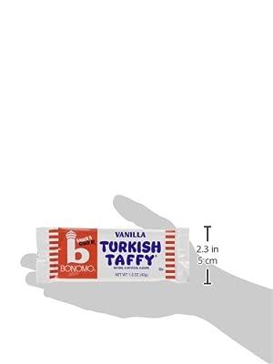 Bonomos Turkish Taffy - Vanilla 24ct.