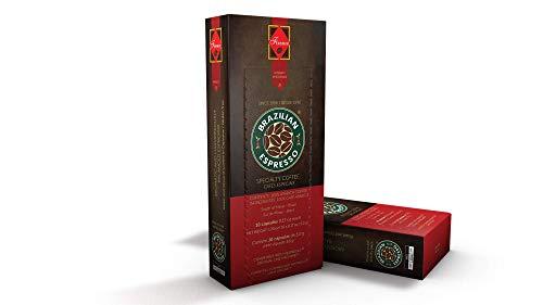 Cápsulas de Café Brazilian Espresso - Firenze (Cápsulas Compatíveis com Nespresso) - Contém 10 cápsulas