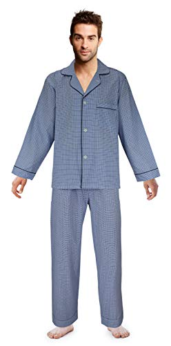 Star Long Sleeve Button Front - Casual Trends Big Boys Button Front Pajama Set, Size 16