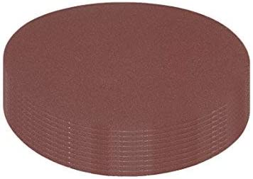 10Pcs 5 inch hook and loop sanding disc 240 grain sandpaper for random orbit sander