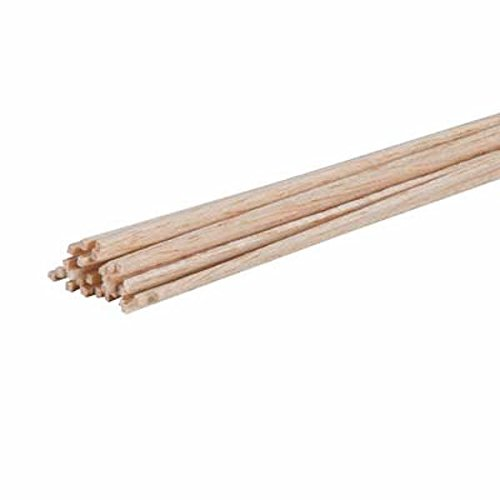 - Revell Precision Sanded Unfinished Balsa Wood Sticks for Craft and Hobby Projects, 1/16 X 1/16 X 36