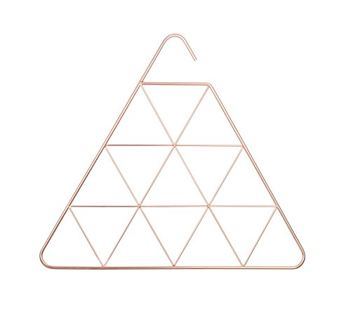 Copper Geometric Scarf Hanger