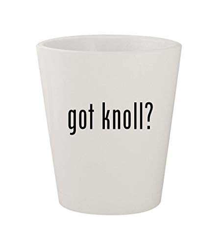 got knoll? - Ceramic White 1.5oz Shot Glass