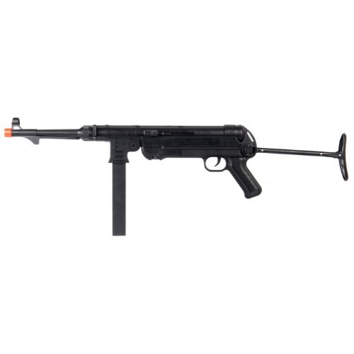 ukarms p1301 mp40 spring airsoft gun realistic wwii replica fps-250 under folding stock(Airsoft Gun)