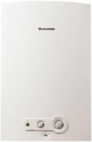 Junkers WR 14-2 B Vertical Sin depósito (instantánea) Sistema de calentador único Blanco - Hervidor de agua (Vertical, Sin depósito (instantánea), Sistema de calentador único, Interior, Metano, Blanco