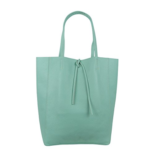 FreyFashion - Made in Italy Women's Tote Bag mint