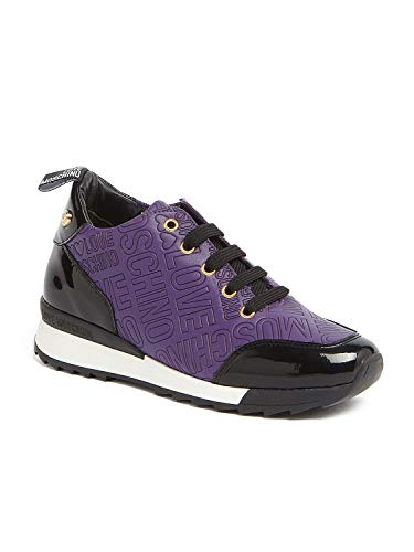 Love Moschino Zapatillas Mujer black Violet rrqpnz