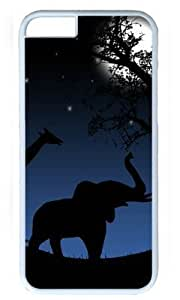 Animals Return Home DIY Hard Shell White iphone 6 plus Case Perfect By Custom Service