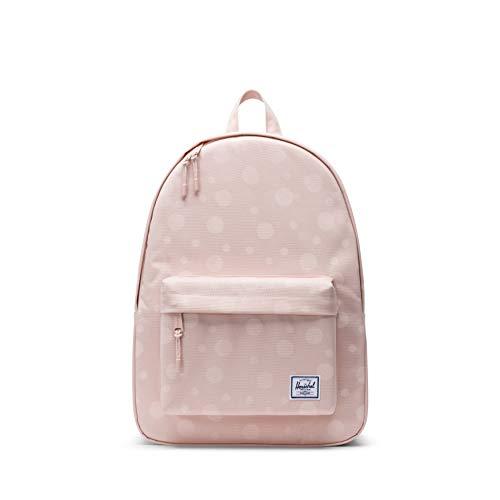 Herschel Classic Backpack, Polka Cameo Rose, One Size