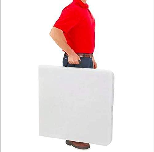 Home Culture 22901 Utility Table 6 Feet White Granite