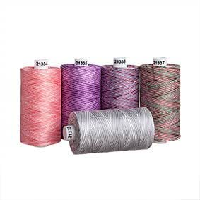 Connecting Threads 100% Cotton Thread Sets - 1200 Yard Spools (2016 Colors Variegated)