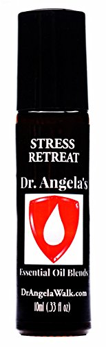 Dr. Angela Walk Stress Retreat Essential Oil Blend | Therapeutic Grade Anxiety Relief Roll-On Bottle 10ml (.33 fl oz) (Best Essential Oil For Scoliosis)