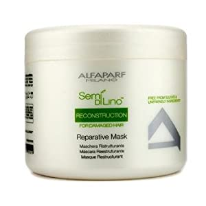 AlfaParf Milano Semi Dilino Reconstruction for Damaged Hair Repairative Mask, 17.2 Ounce