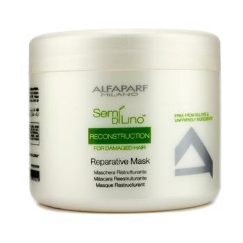 - AlfaParf Milano Semi Dilino Reconstruction for Damaged Hair Repairative Mask, 17.2 Ounce
