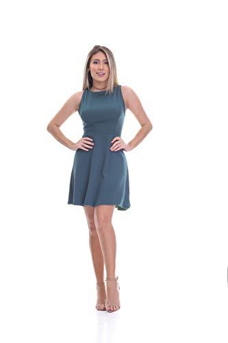 Vestido Clara Arruda Detalhe Tule 50293 - P - Verde