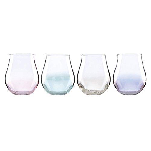 Lenox Tuscany Classics Lustre Pastel Stemless Wine Glass (Set of 4)