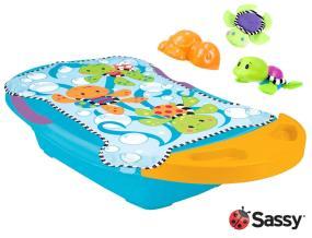 Amazon Com Sassy Splashin Fun Bath Tub Turtle