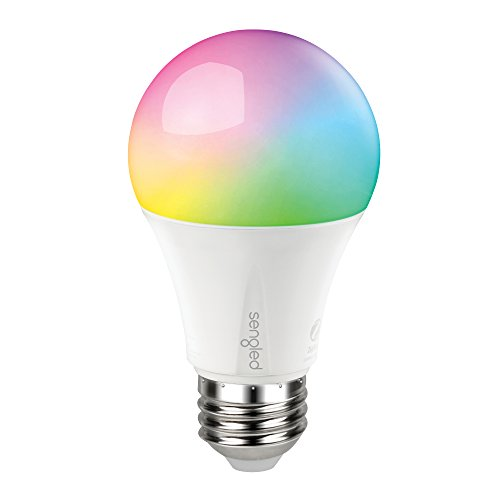 Sengled E11-N1EA Smart LED Multicolor Bulb, Hub Required, RGBW Color & Tunable White 2000-6500K, A19 60W...